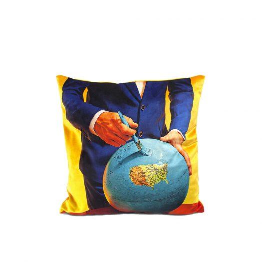 Globe Cushion Cover 50cm X 50cm
