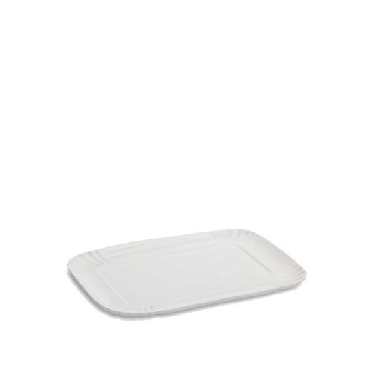 Estetico Quotidiano Porcelain Tray 26cm X 34cm