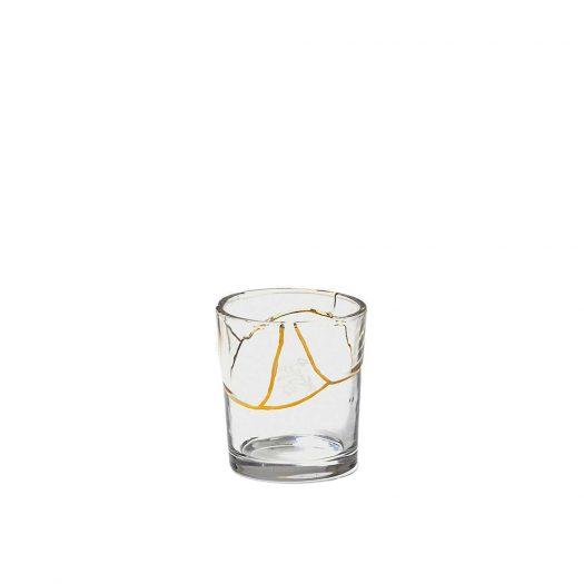 Kintsugi Glass And Gold Tumbler