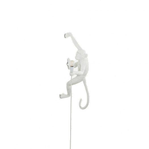 Monkey Resin Outdoor Lamp 37cm