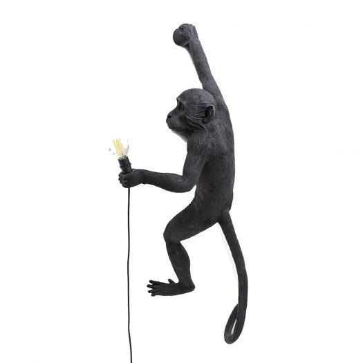 Monkey Resin Outdoor Lamp 80cm