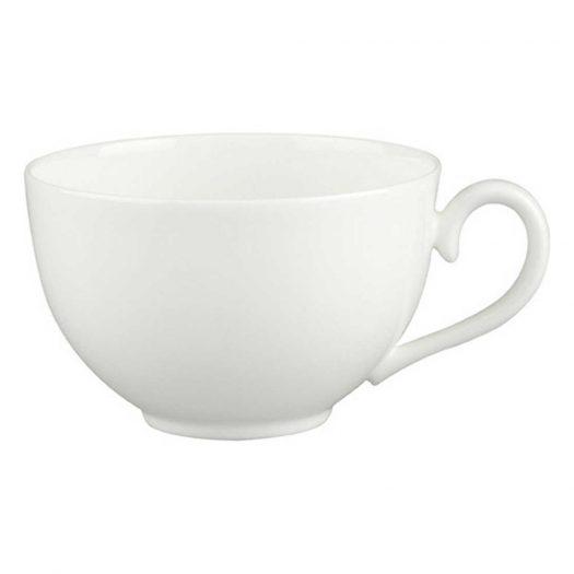 White Pearl Porcelain Breakfast Cup 400ml
