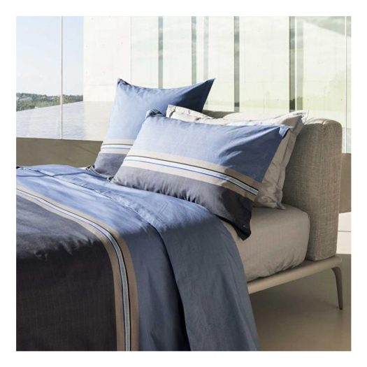 Paddy Blue Double Duvet Cover