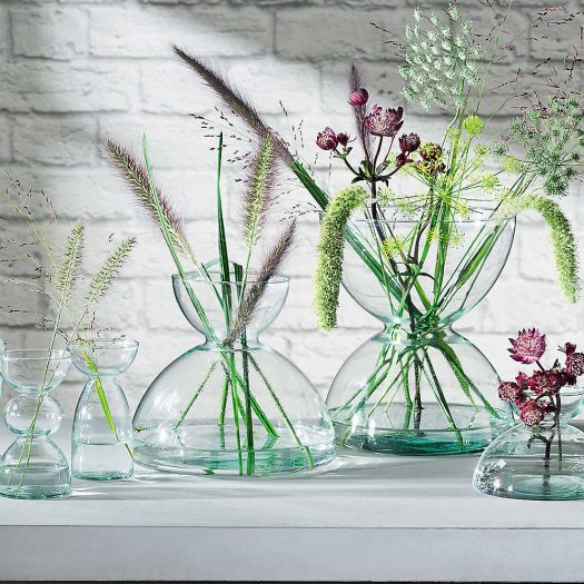 Canopy Recycled Glass Vase 9.5cm
