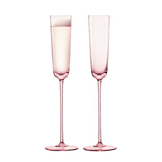 Champagne Theatre Champagne Flute Set of Two