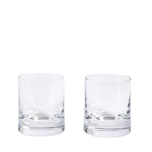 Gin Glass Tumblers Set of Two