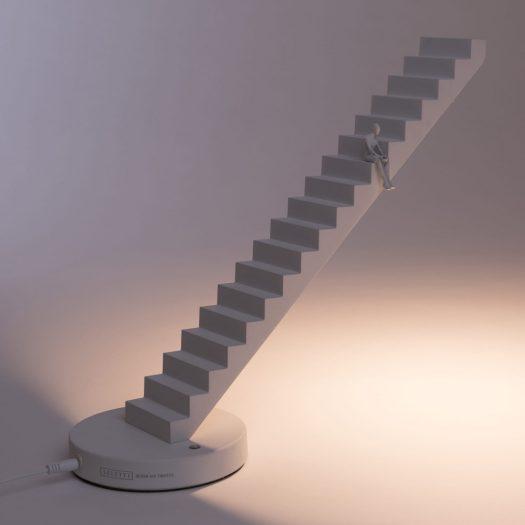 Verso Aluminium Table Lamp 37cm