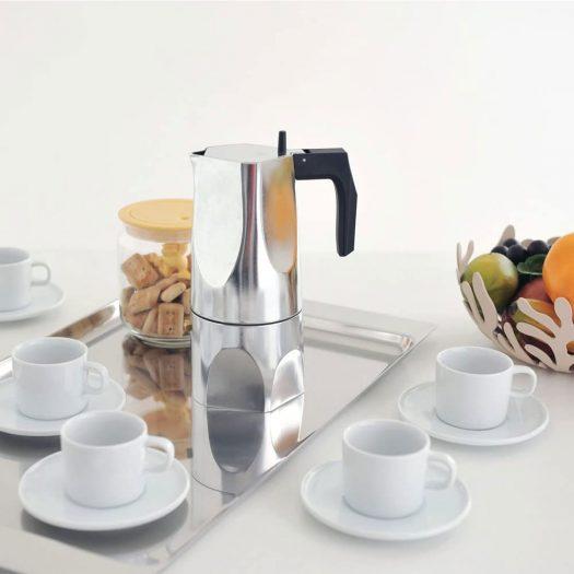 Ossidiana Aluminium Casting Espresso Coffee Maker 22.5cm