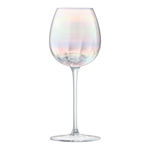 Pearl Set of Four White Wine Glasses
