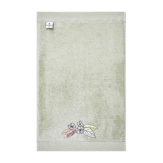 Riviera Floral-embroidered Cotton Bath Sheet 92cm x 160cm