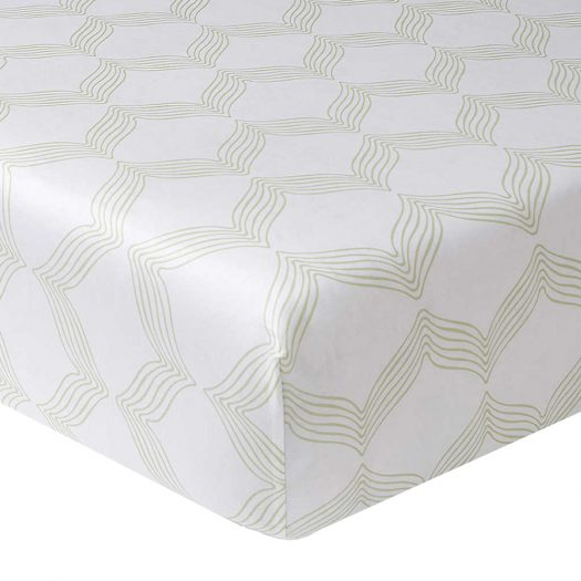 Riviera Printed Cotton Single Fitted Sheet 90cm x 190cm