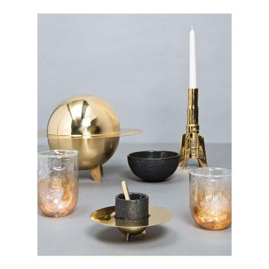 Cosmic Diner Lunar Stoneware Bowl 14cm