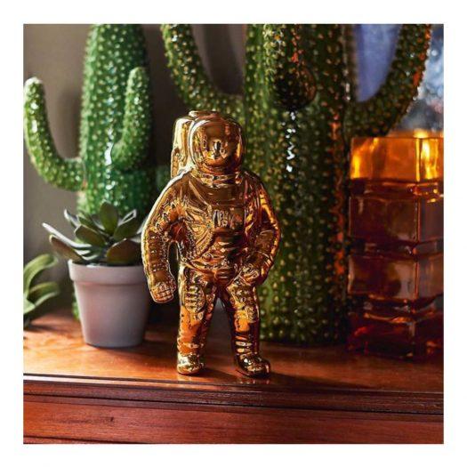 Cosmic Diner Starman Porcelain Astronaut Vase 28cm