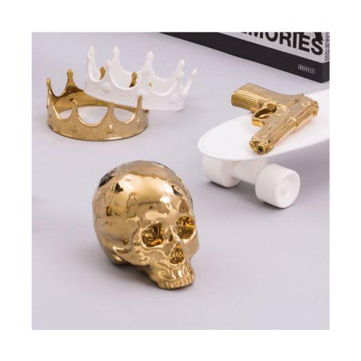 Crown Porcelain Ornament