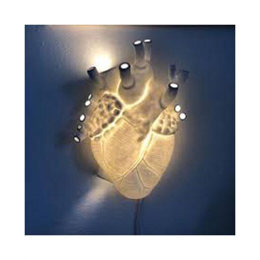 Heart Porcelain Lamp