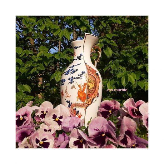 Hybrid Adelma Bone China Porcelain Vase 32.5cm