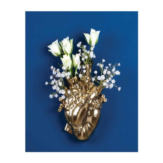 Love In Bloom Heart-shape Vase 25cm