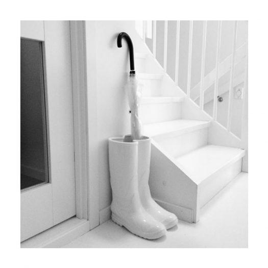 Porcelain Rain Boots Umbrella Stand 36cm