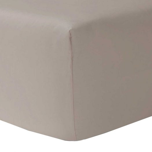 Yves Delorme Triomphe Cotton Double Fitted Sheet