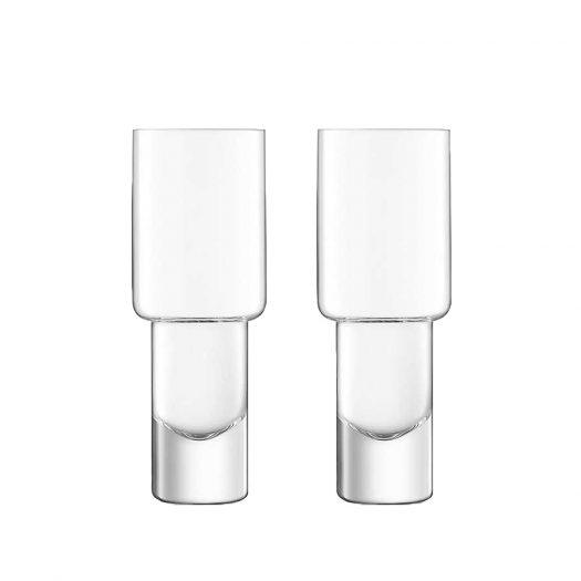 Vodka Mixer Glasses Set of Two
