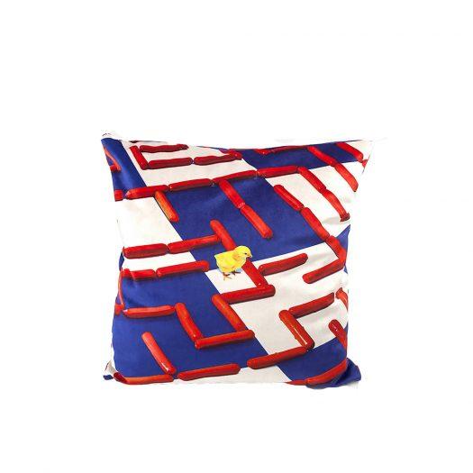 Labyrinth Cushion Cover 50cm X 50cm