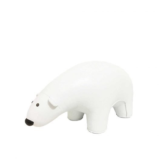 Polar Bear Leather Doorstop 10kg
