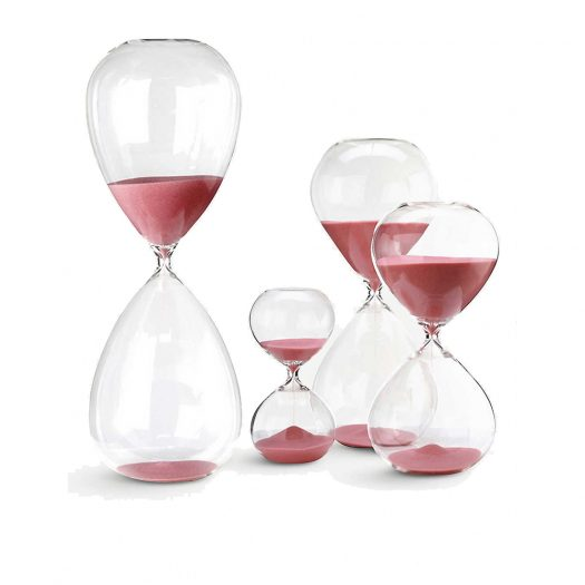 Pols Potten Large Hourglass With Coloured Sand 38cm
