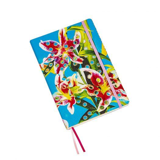 Seletti Wears Toiletpaper Flowers With Holes Notebook 21cm X 14cm