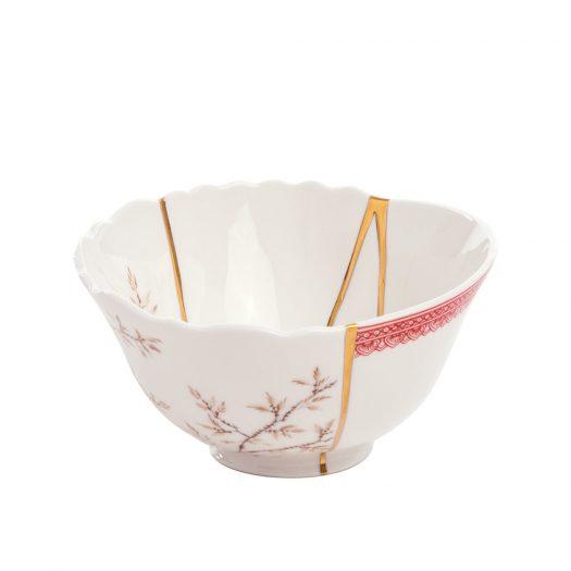Kintsugi N1 Porcelain And 24ct Gold Bowl 15.2cm