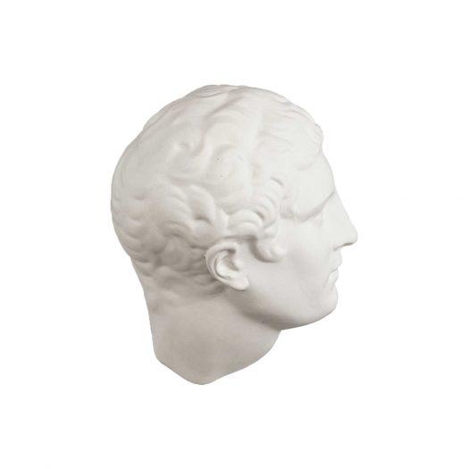Male Head Porcelain Decoration 37cm