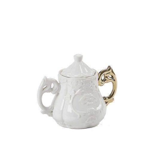 I-wares Gold Bone China Porcelain Sugar Bowl 23cm