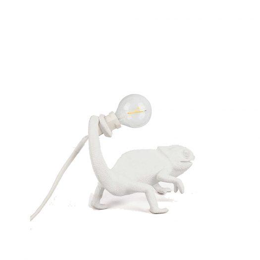 Chameleon Resin Indoor Lamp 17cm