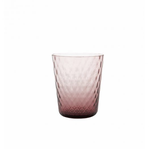 Veneziano Glass Tumbler Amethyst Set of 6