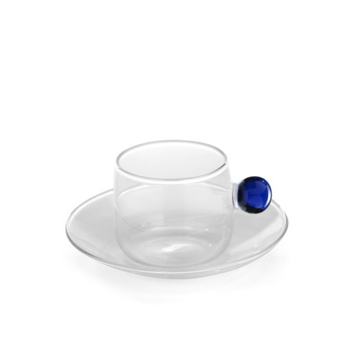 Bilia Tea Cup & Saucer Blue