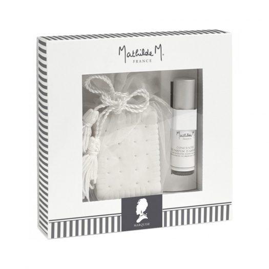 Marquise Gift Box Ceramic + Spray Room 5 ml
