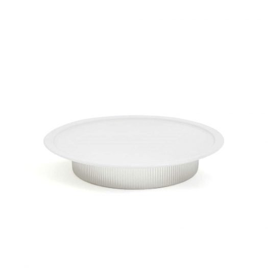 Bernadotte Porcelain and Stainless Steel Serving Plate 30cm