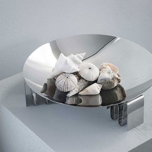 Frequency Stainless Steel Centerpiece 35cm