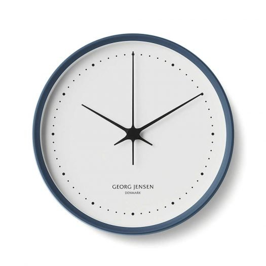 Henning Koppel Stainless Steel Wall Clock 22cm