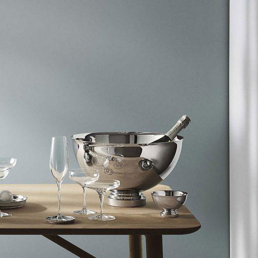 Manhattan Stainless Steel Champagne Bowl