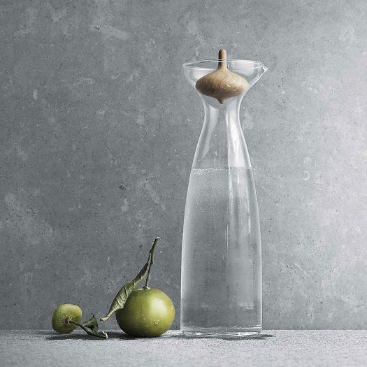 Alfredo Oak and Glass Carafe 1L