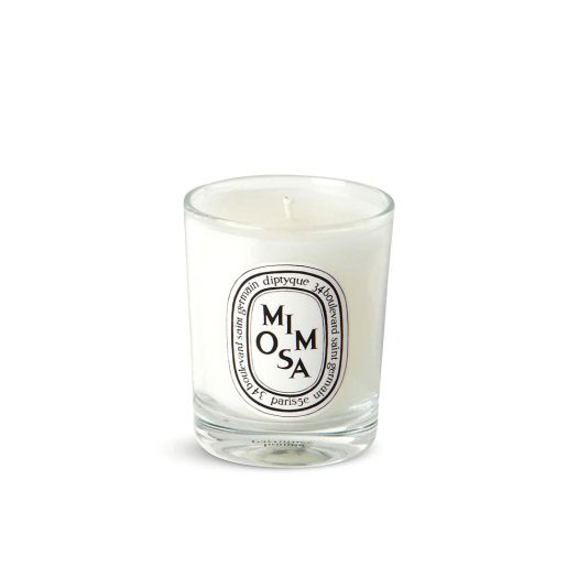 Mimosa Mini Scented Candle 70g