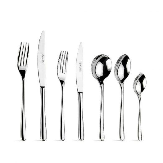 Warwick Stainless Steel 124-piece cutlery set