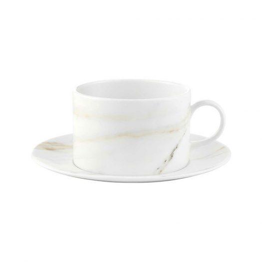Venato Imperial China Espresso Cup and Saucer Set