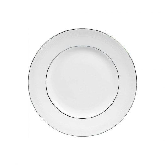 Blanc sur Blanc Plate 15cm