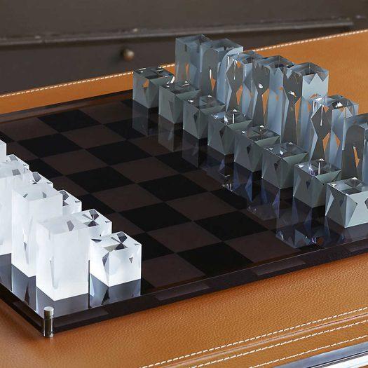 Acrylic Chess Set 44cm
