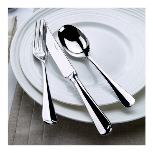 Rattail 24 Piece Stainless Steel Cutlery Set for 6