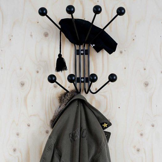Bill S Birch and Metal Wall Hanger