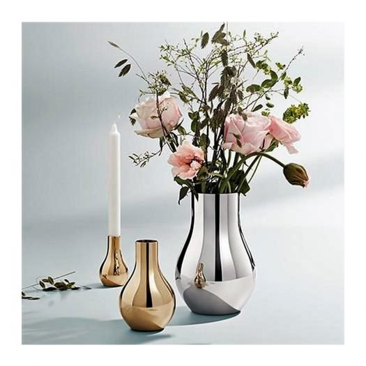 Cafu Stainless Steel Vase Small