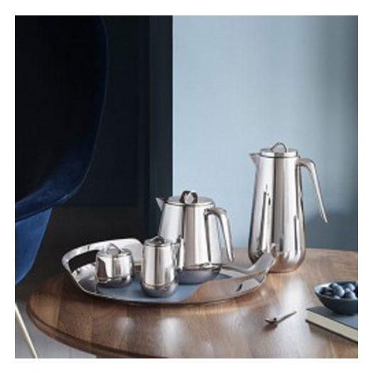 Helix Stainless Steel Bonbonniere 8.5cm