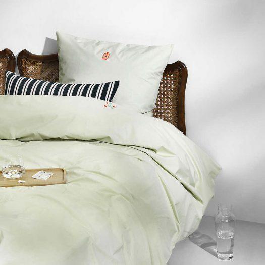 Eclat Stripe-Print Woven Cushion 33cm x 60cm
